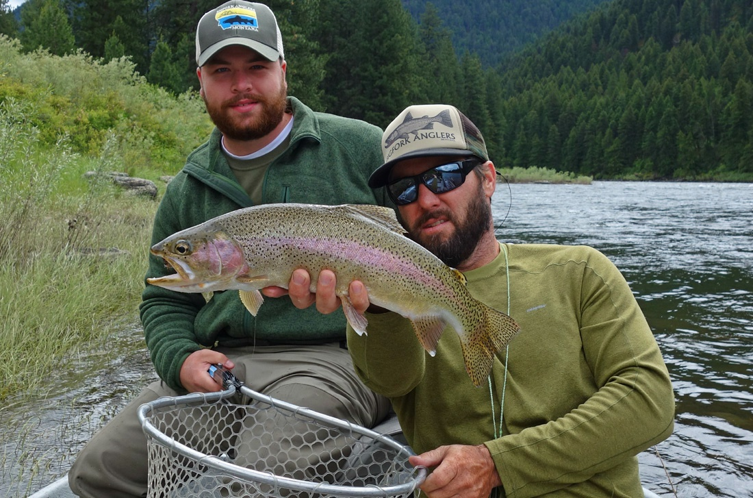Clark Fork River Fly Fishing