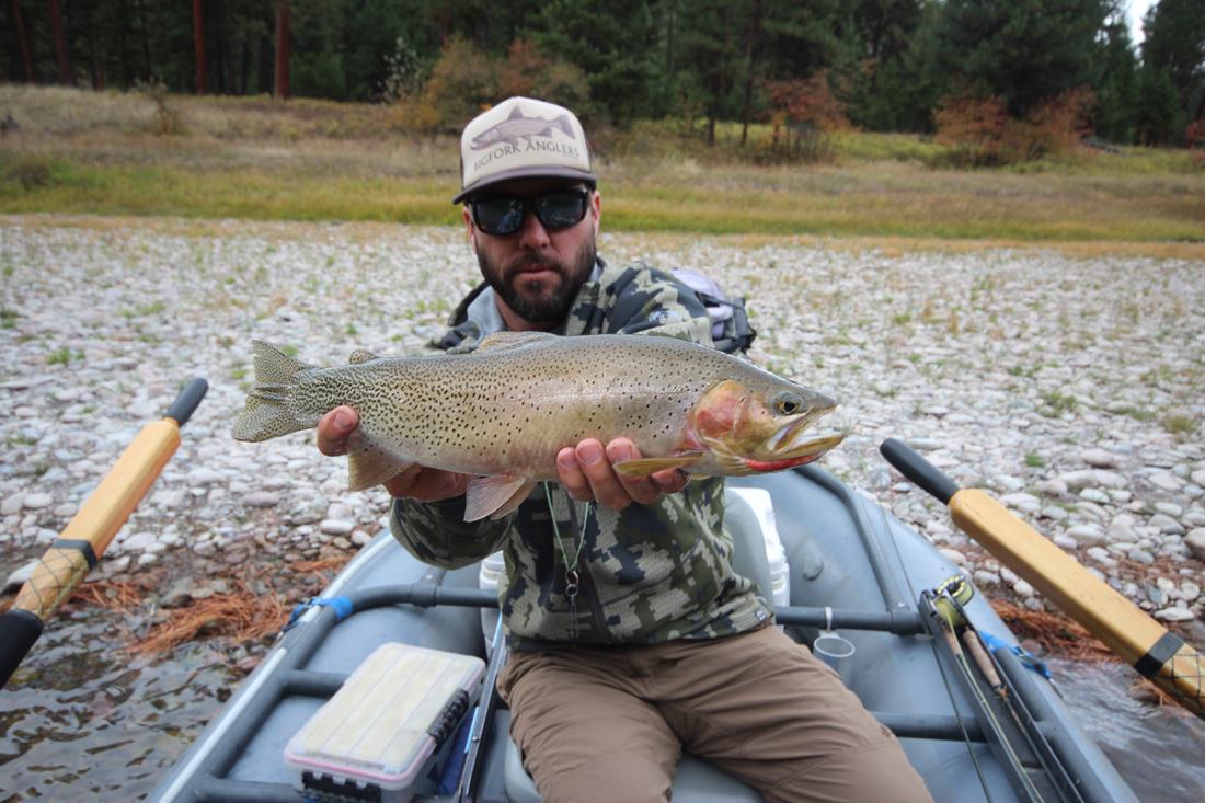Fly Fishing Blackfoot River Montana